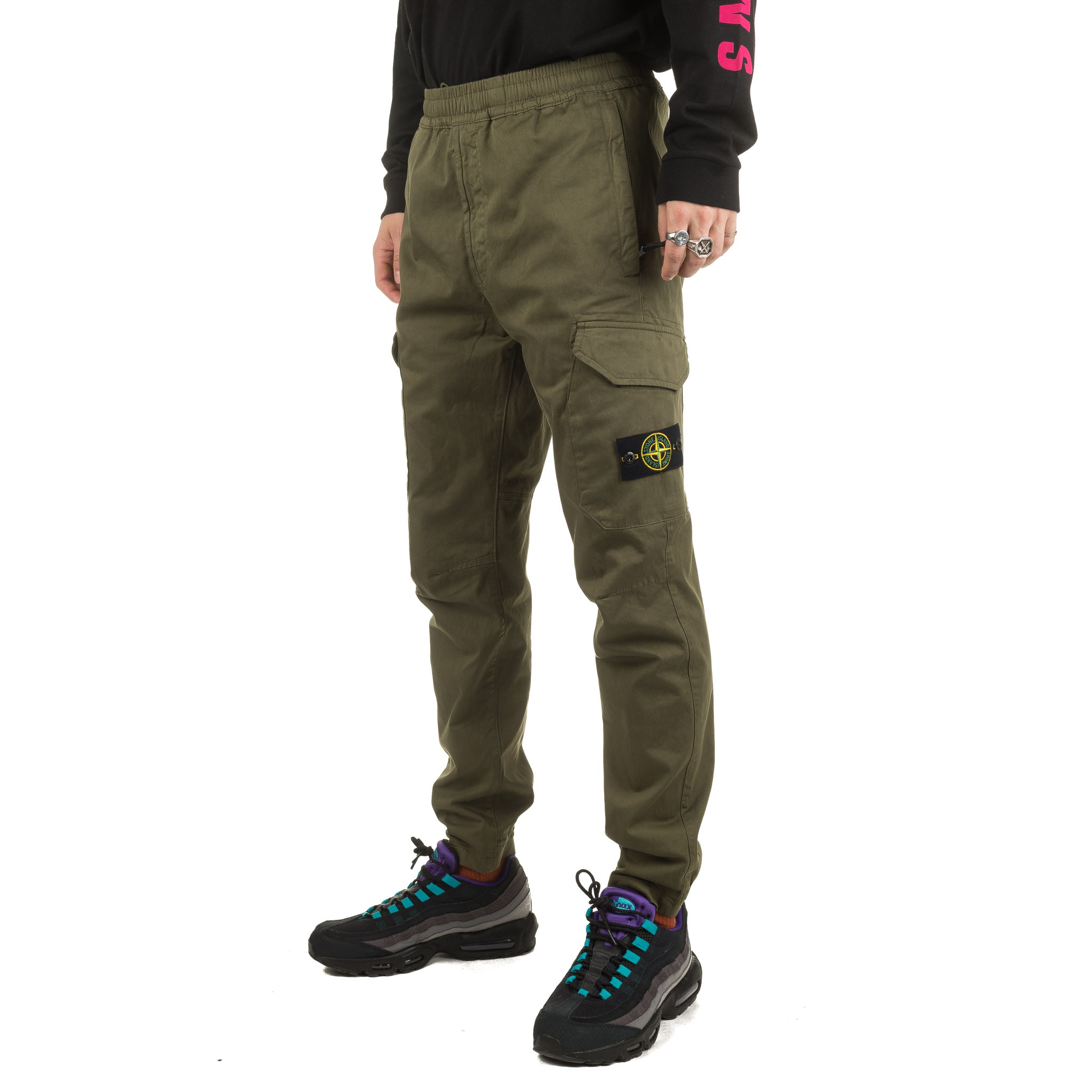 Garment Dyed Cargo Pants 711531914 Olive