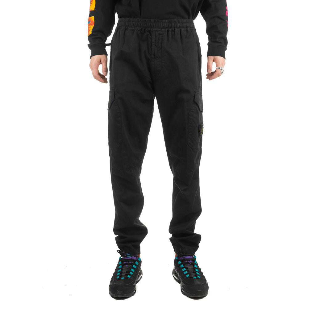 Garment Dyed Cargo Pocket Pants 711531914 Black
