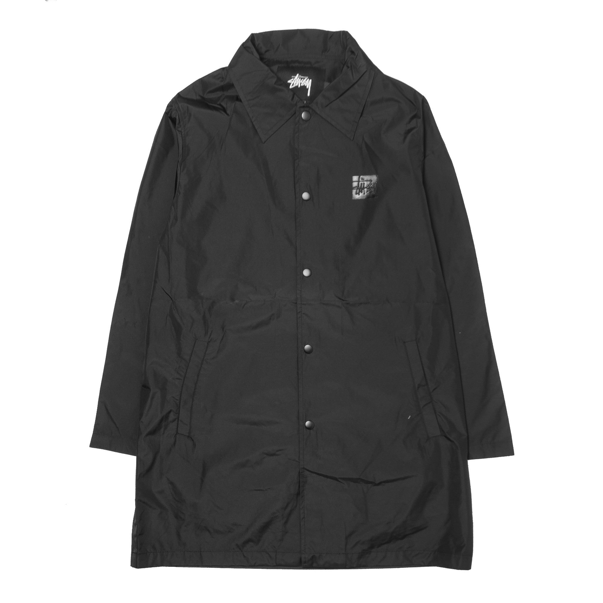 Long Coach Jacket 115305 Black