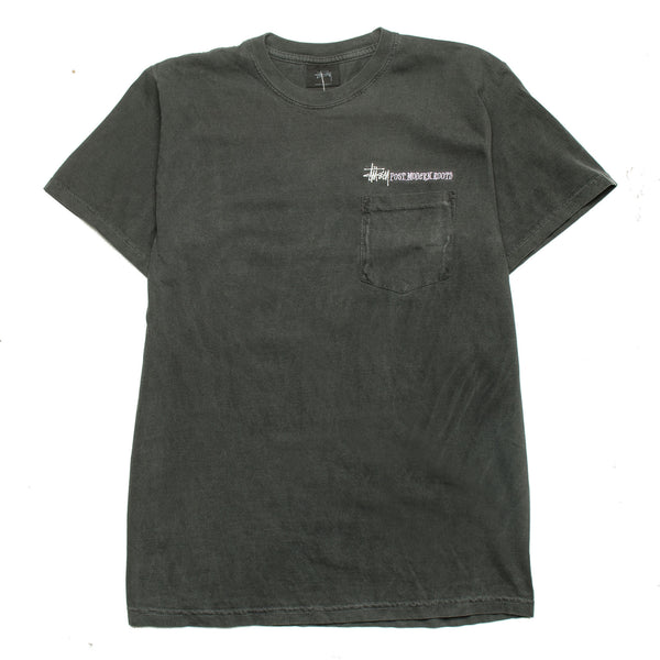 Post Modern Roots Pocket Tee Black