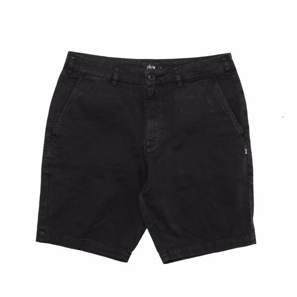 Classic Washed Gramps Short Black 112182