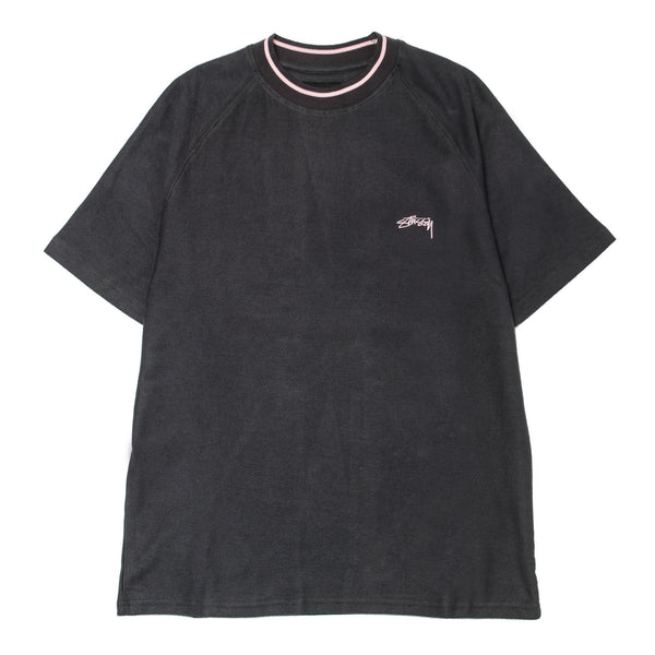 Reverse French Terry S/SL Crew Black