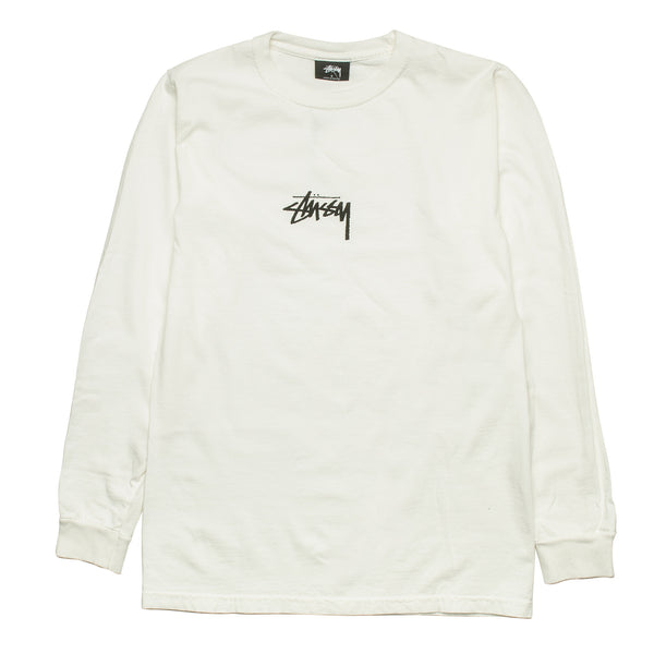 Stock Pig Dyed LS Tee Natural