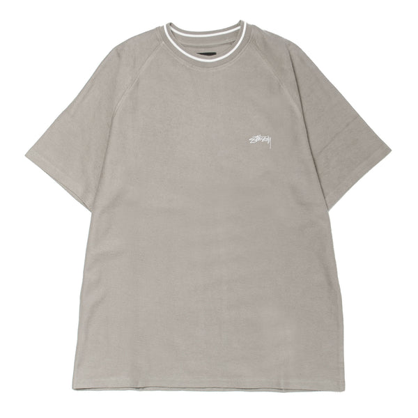 Reverse French Terry S/SL Crew Grey