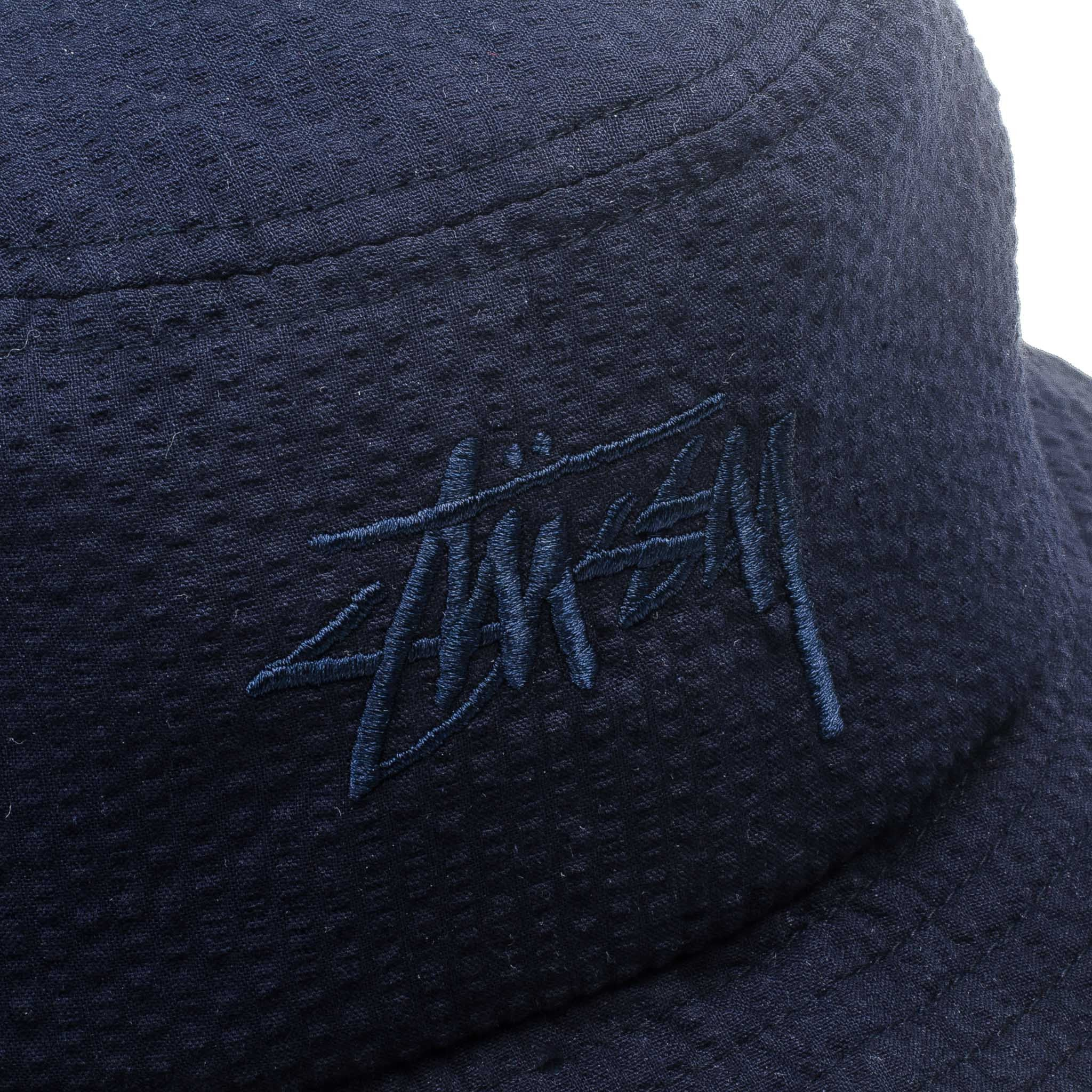 Stock Seersucker Bucket Navy