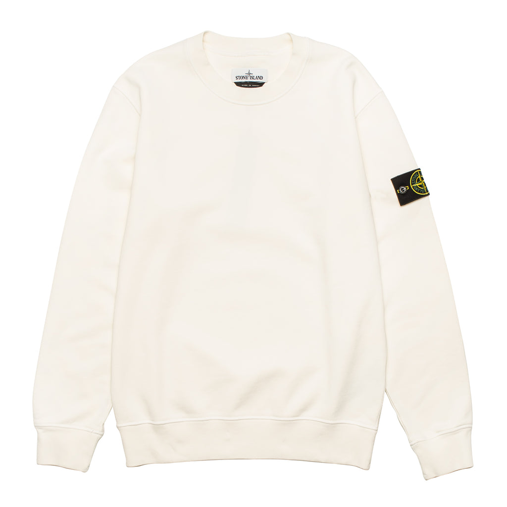 Garment Dyed Crewneck Sweatshirt 721563051 Cream