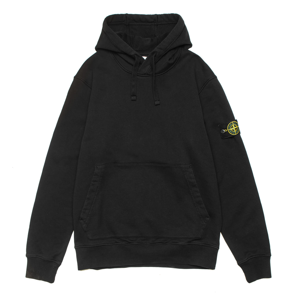 Garment Dyed Pullover Hoodie 721564151 Black