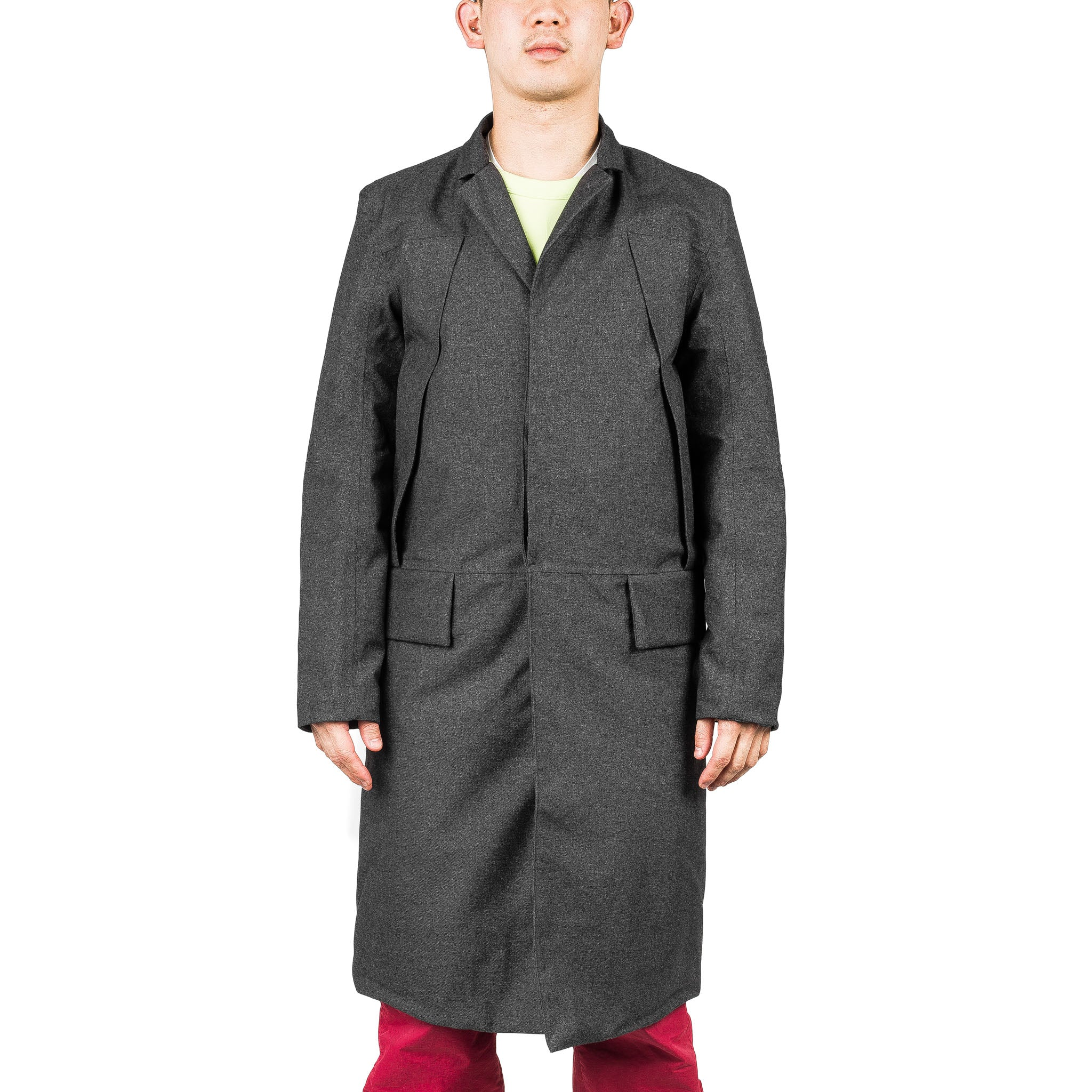 Down Chesterfield Coat Black