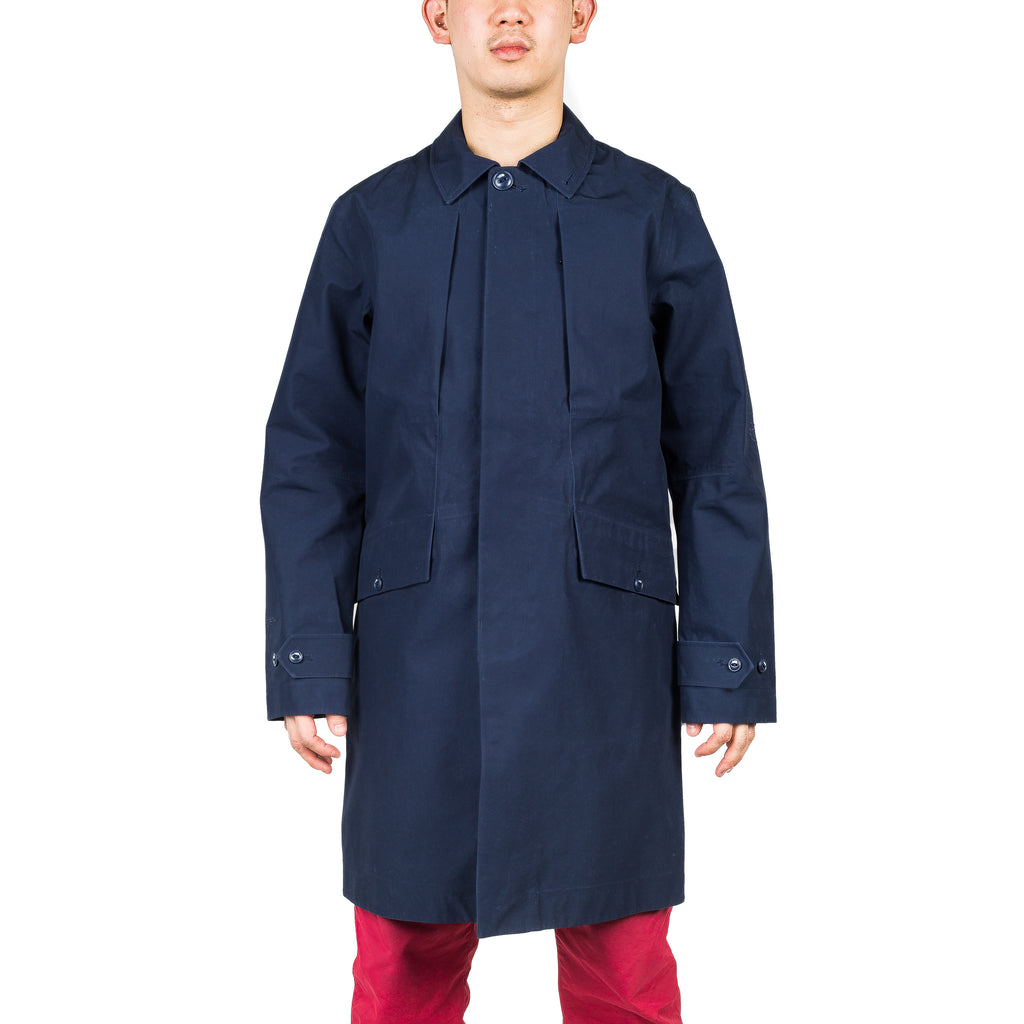 GTX Balmacaan Coat Cosmic Blue