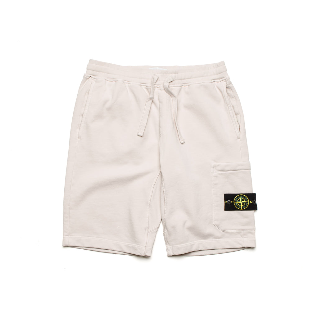 Garment Dyed Fleece Shorts 701564651 Plaster