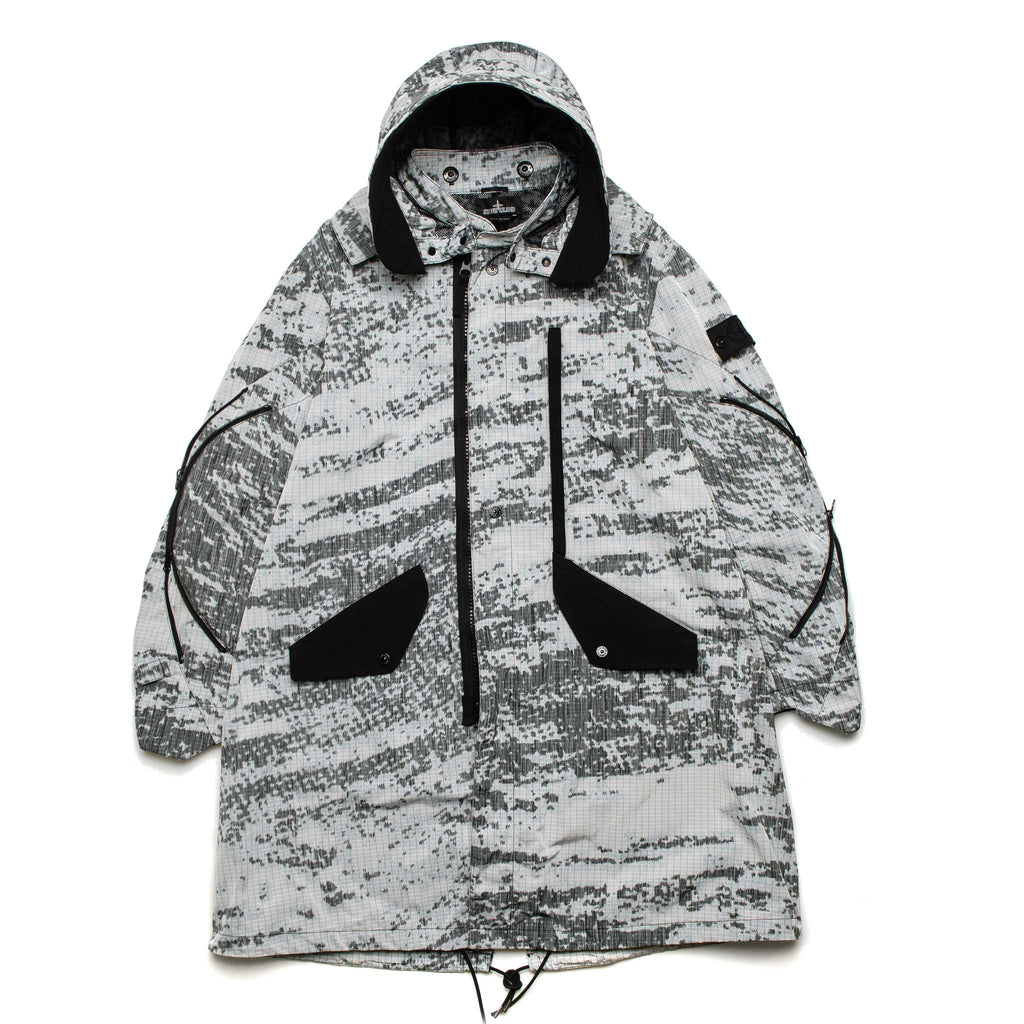 SP DPM Chine Fishtail Parka 701970512 V0060 Grey