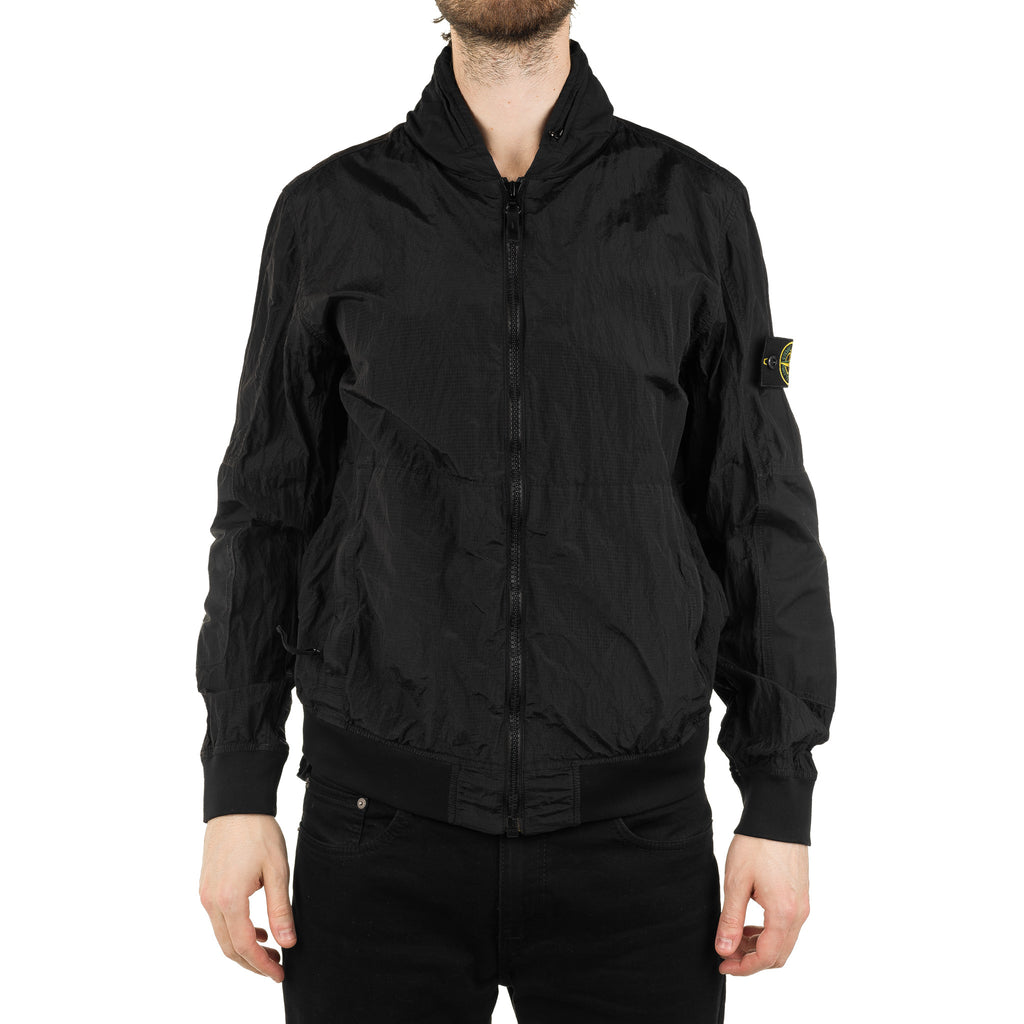 Nylon Metal Watro Ripstop Jacket 701542932 Black