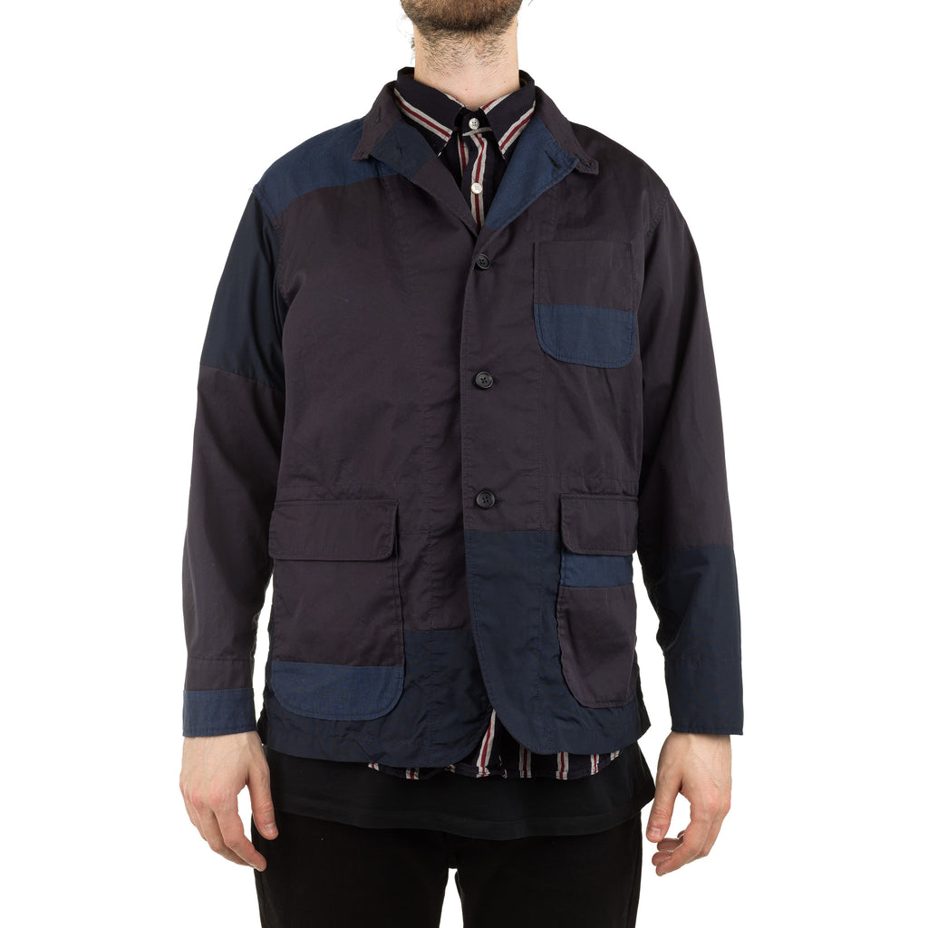 Loiter Jacket PB002 High Count Twill Dark Navy