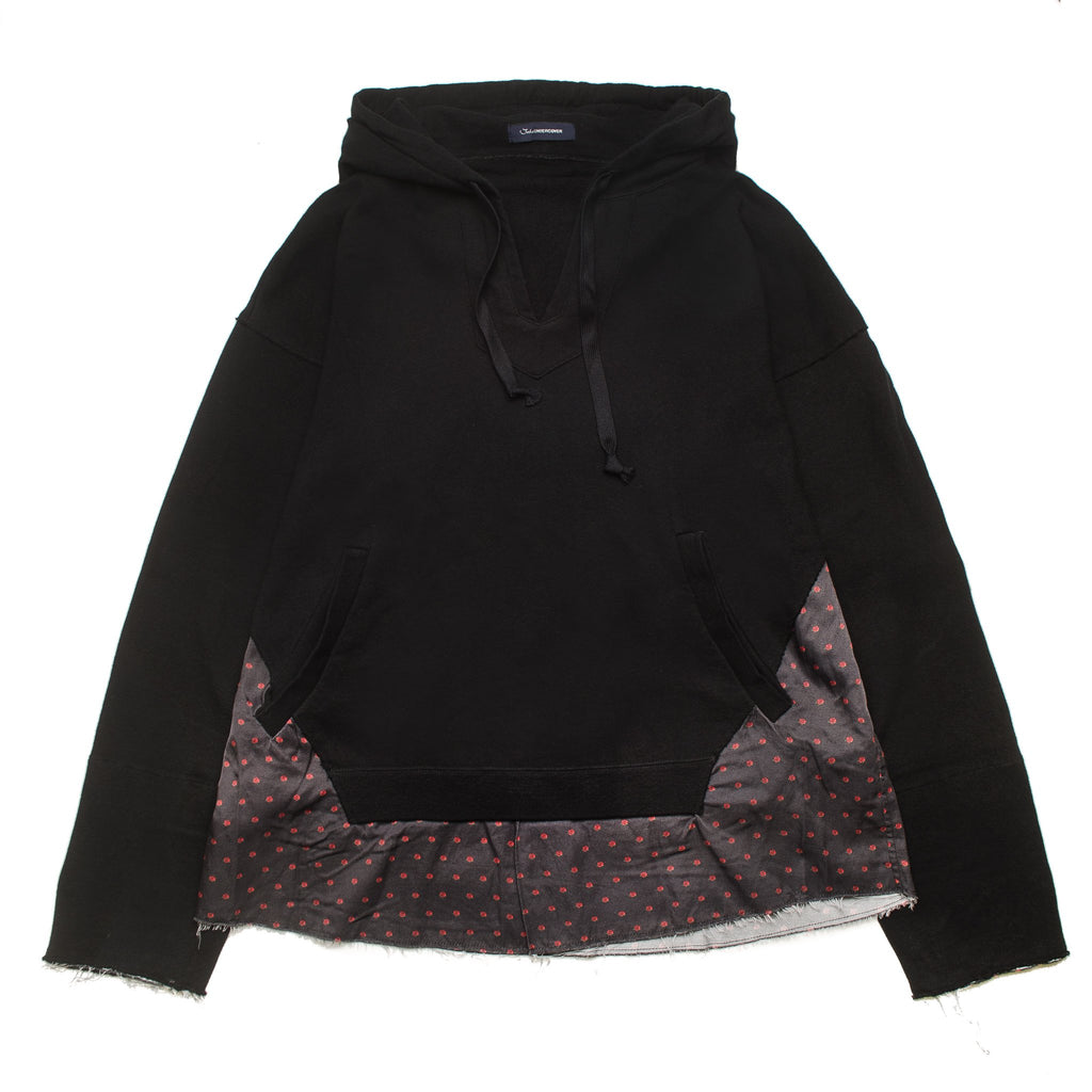Rose Dot Parka Black JUV4802