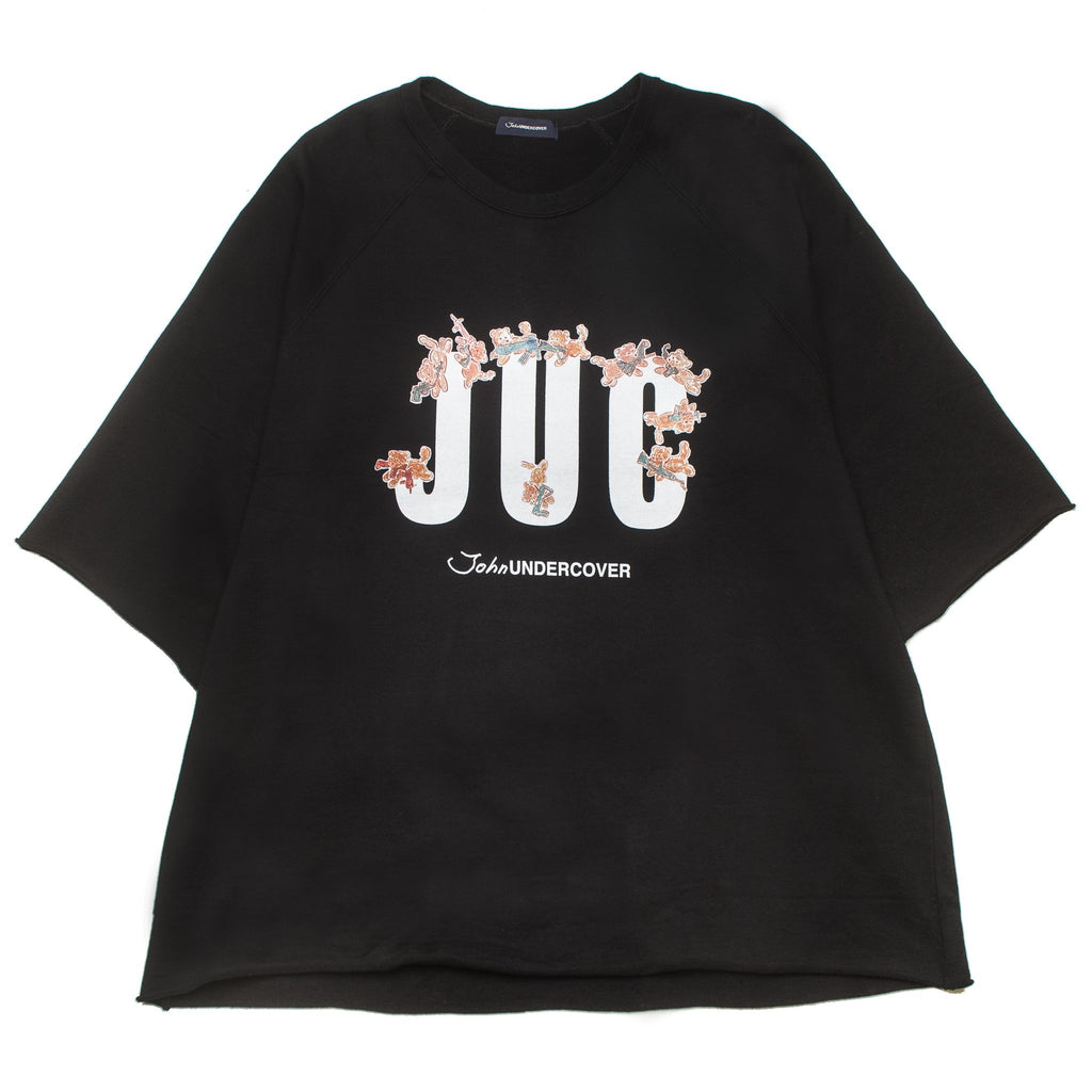 JUC Short Sleeve Crew Black JUV4805-1