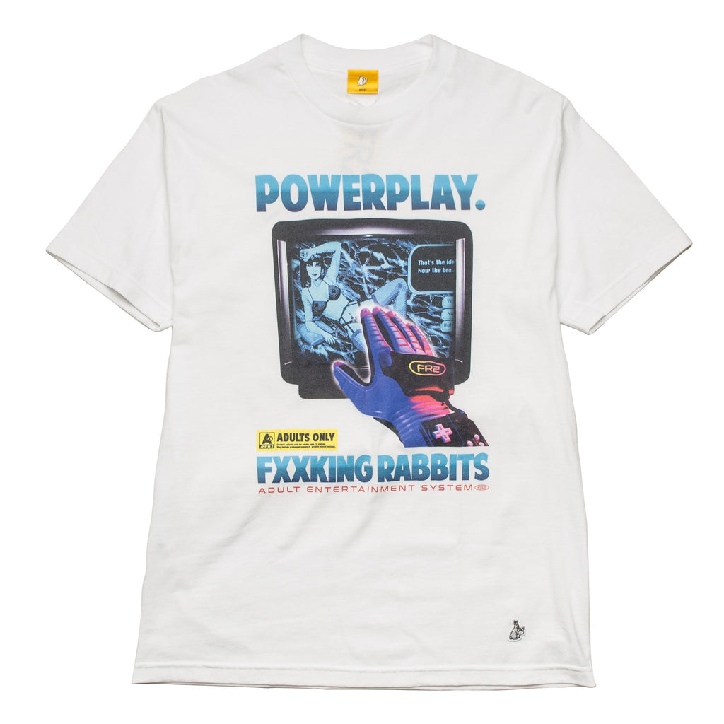 Power Tee FRC258 White