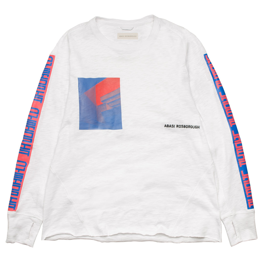 Arc Long Sleeve Tee LSS11004 Optic White