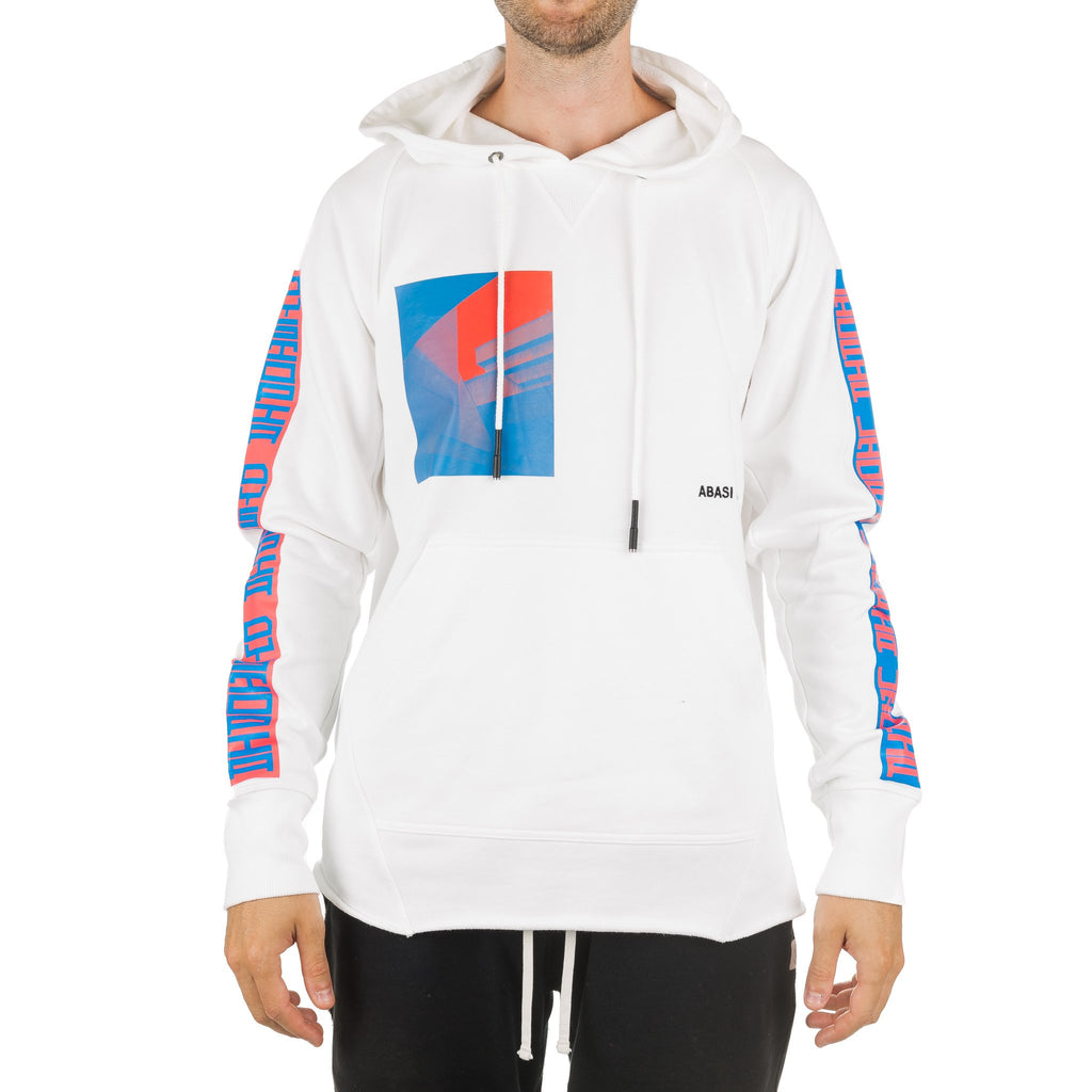 Arc Hood Sweatshirt HDS11004 Optic White
