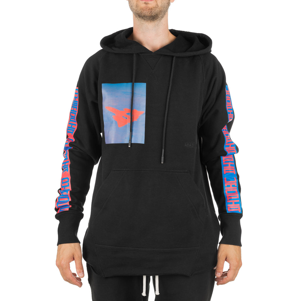 Arc Hood Sweatshirt HDS11001 Black