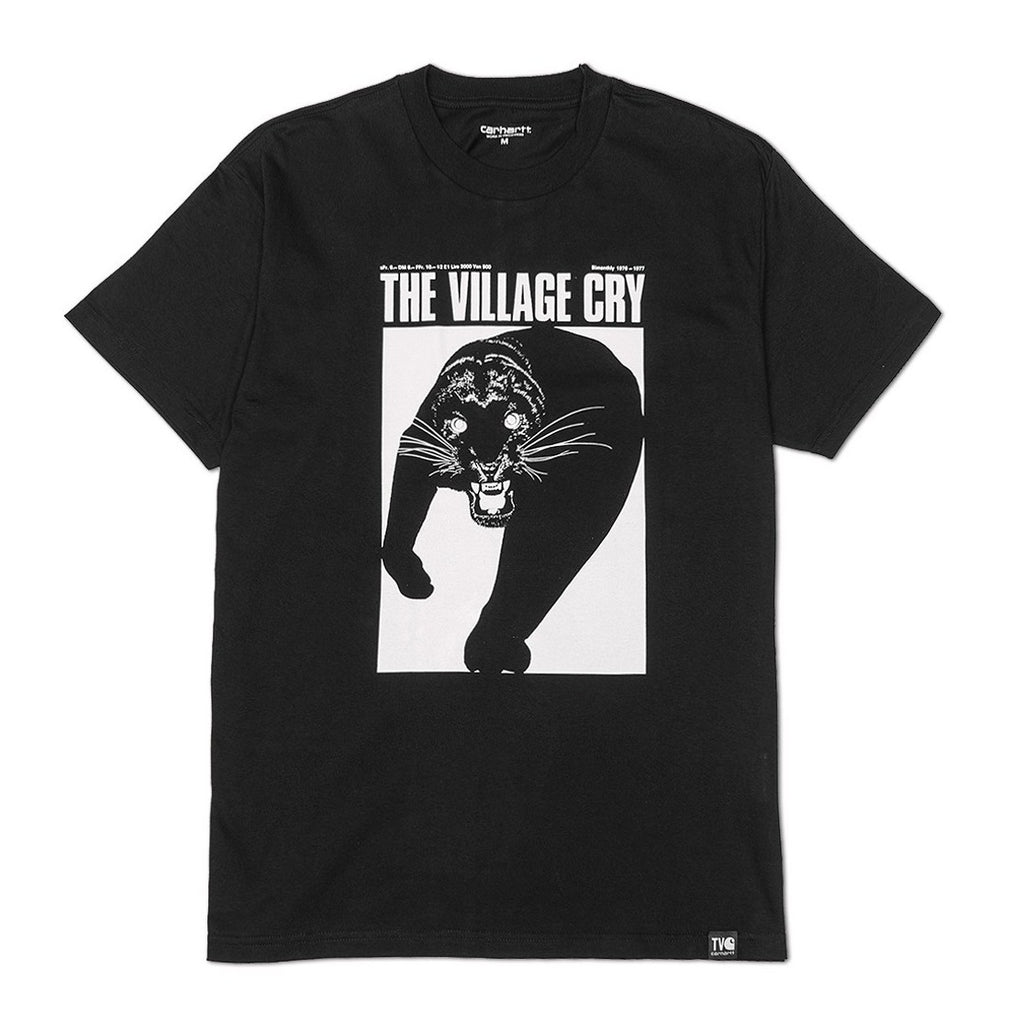 TVC Panther Tee I025306 Black
