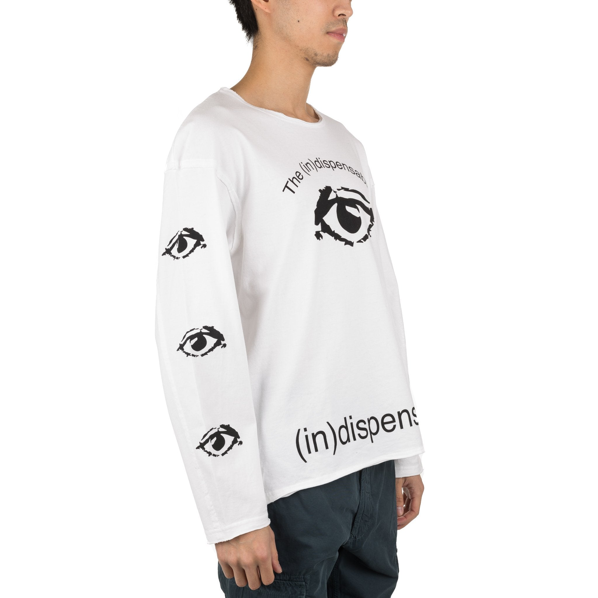 Psylence (in)dispensables L/S Tee JUU4803-3 White