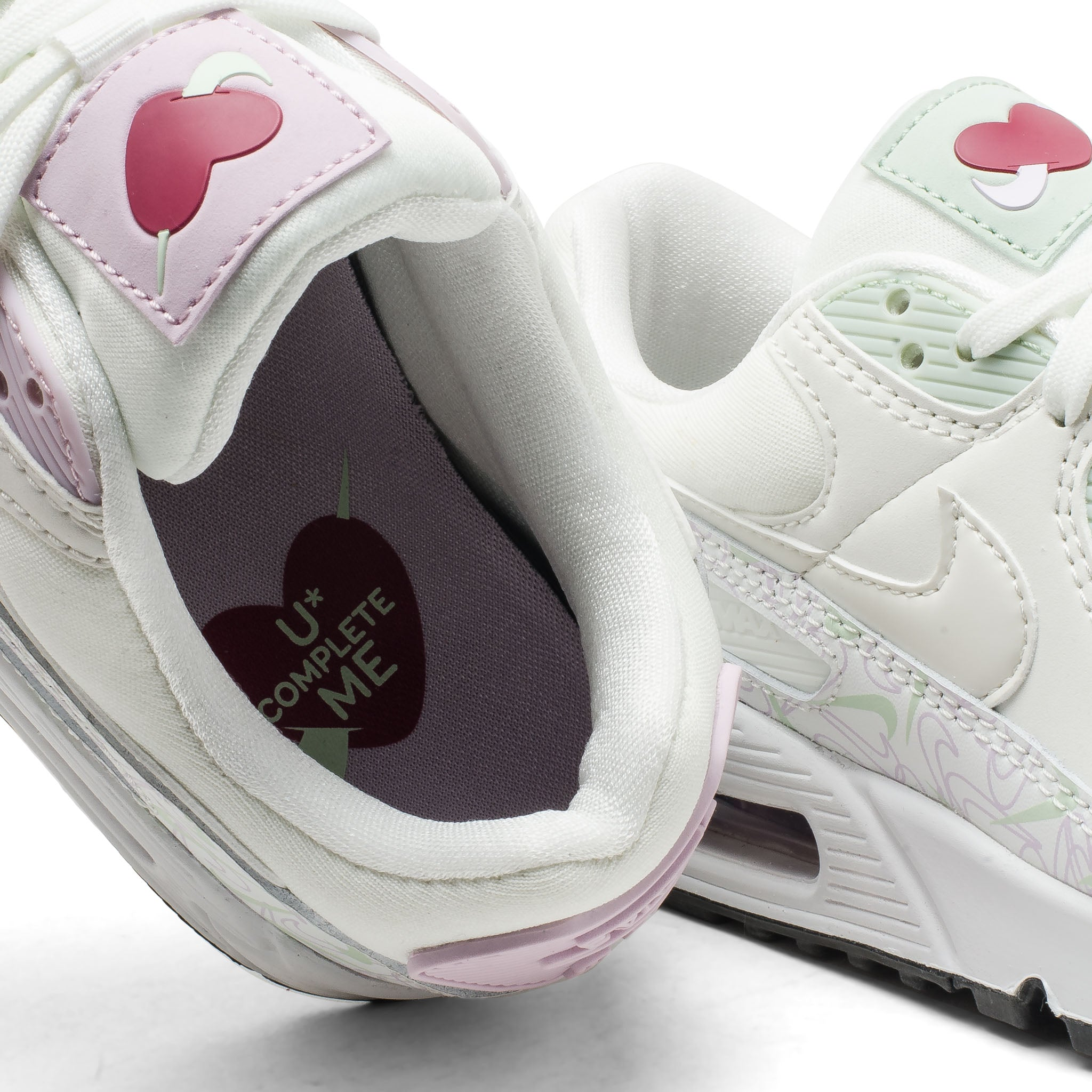 Wmns Air Max 90 VDAY CI7395-100 White