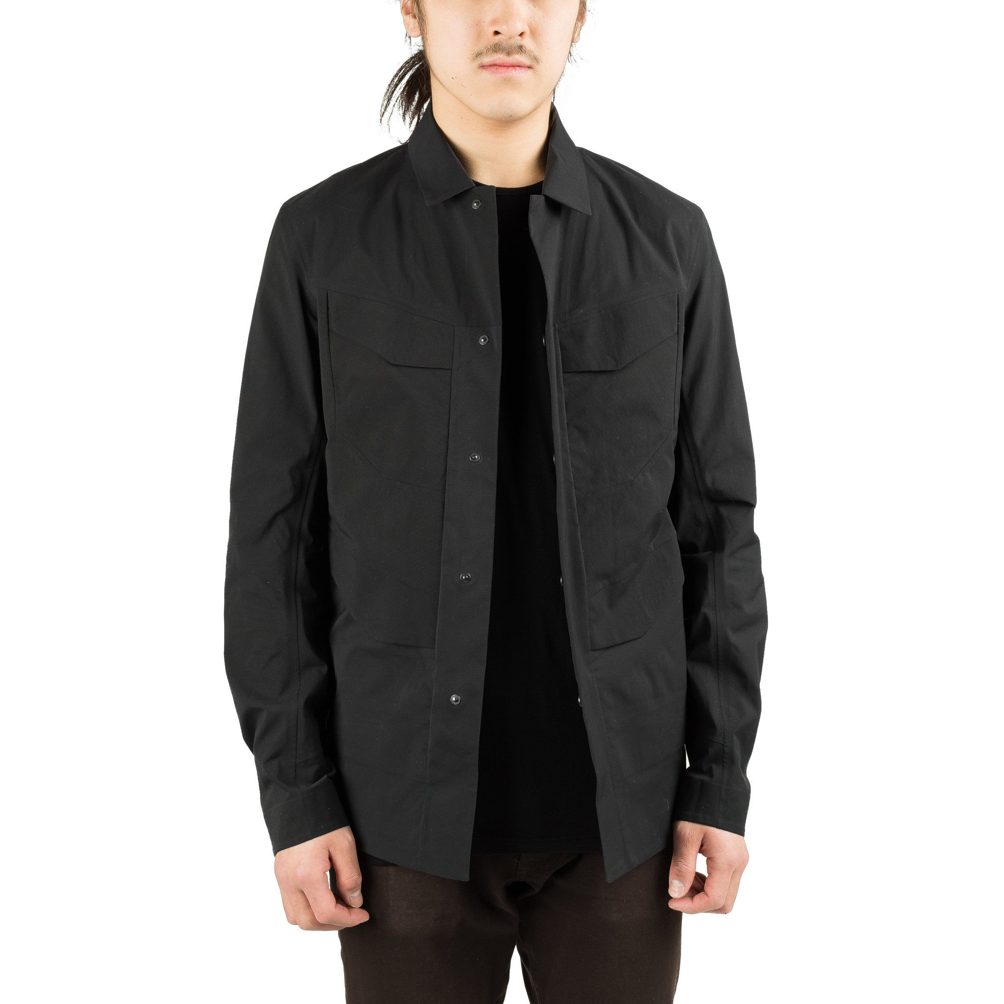 Field Overshirt 17321 Black