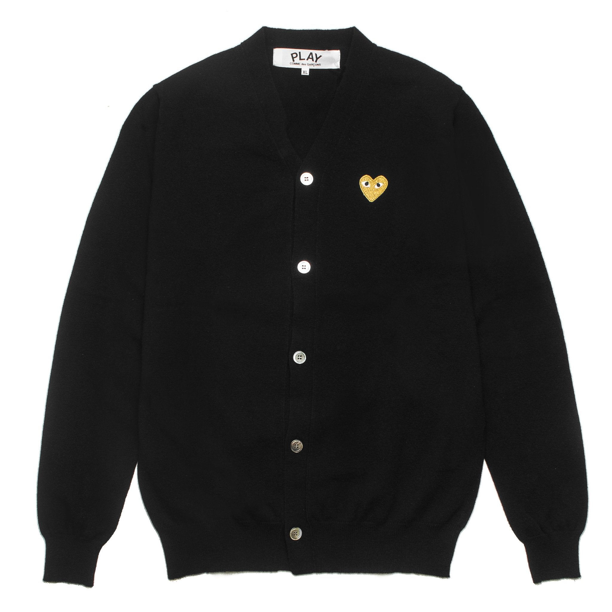 Gold Heart Cardigan AZ-N050-051-1 Black