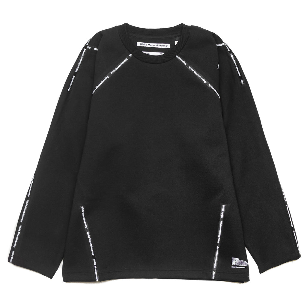 WM Logo Taped Sweater WM1971512 Black