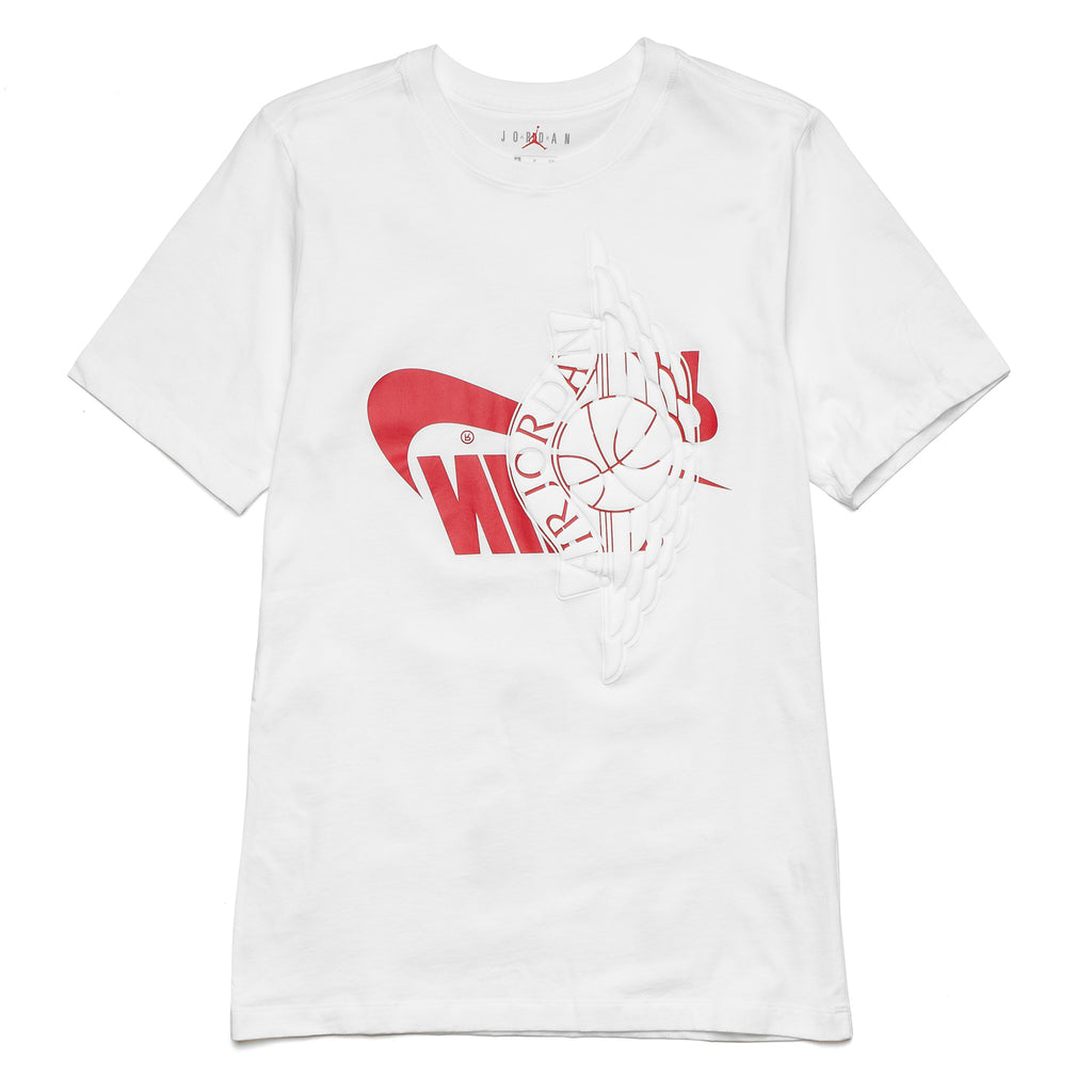 Air Jordan Futura Wings Tee AO0601-100 White