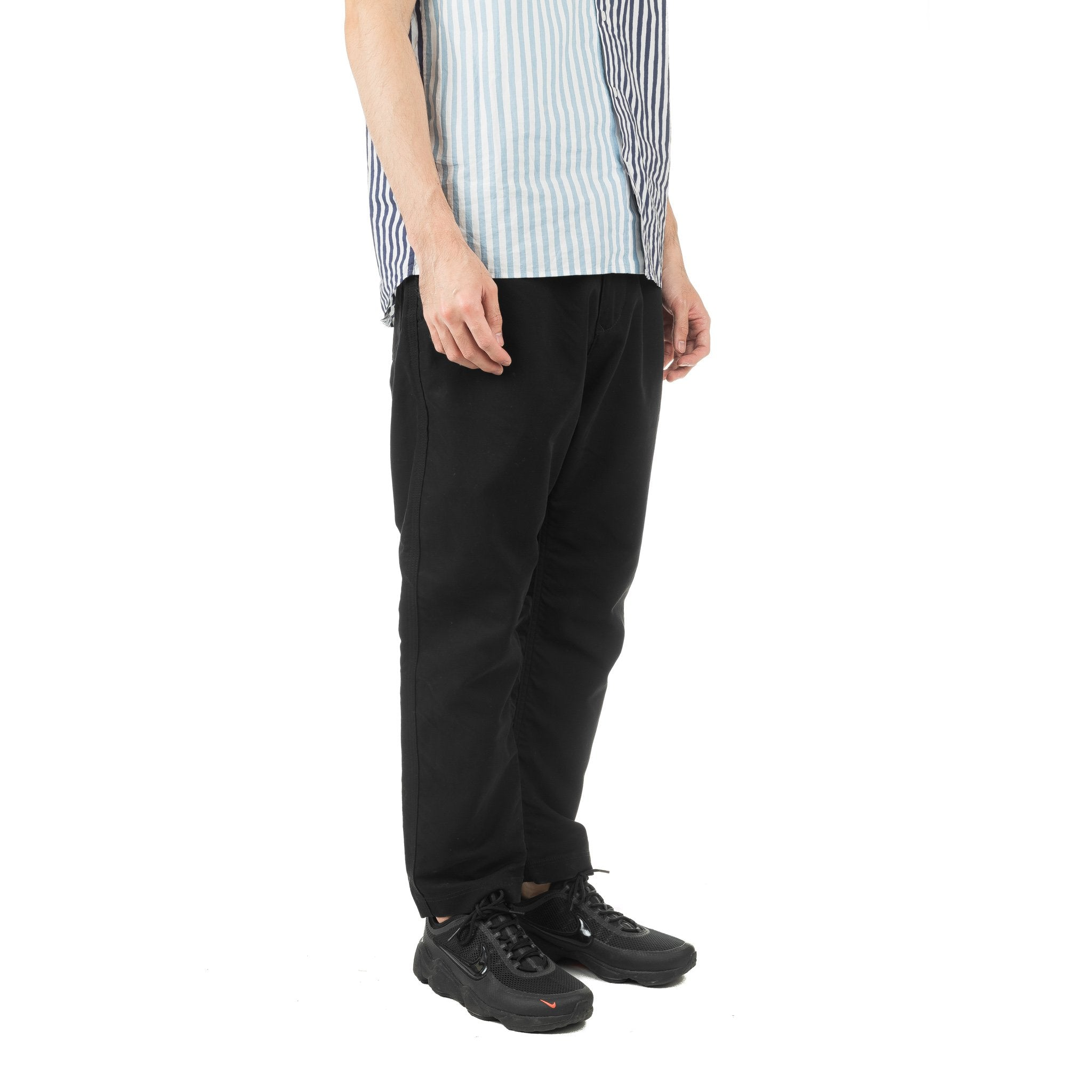 Puckering Sarouel Pants Black