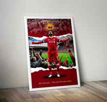 Load image into Gallery viewer, Mo Salah Poster