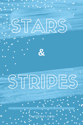 stars and stripes graphic tahoe bay