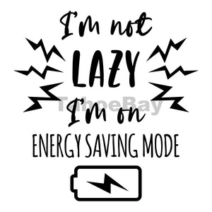 Energy Saving Mode Can Cooler Graphic Design Files | SVG PNG
