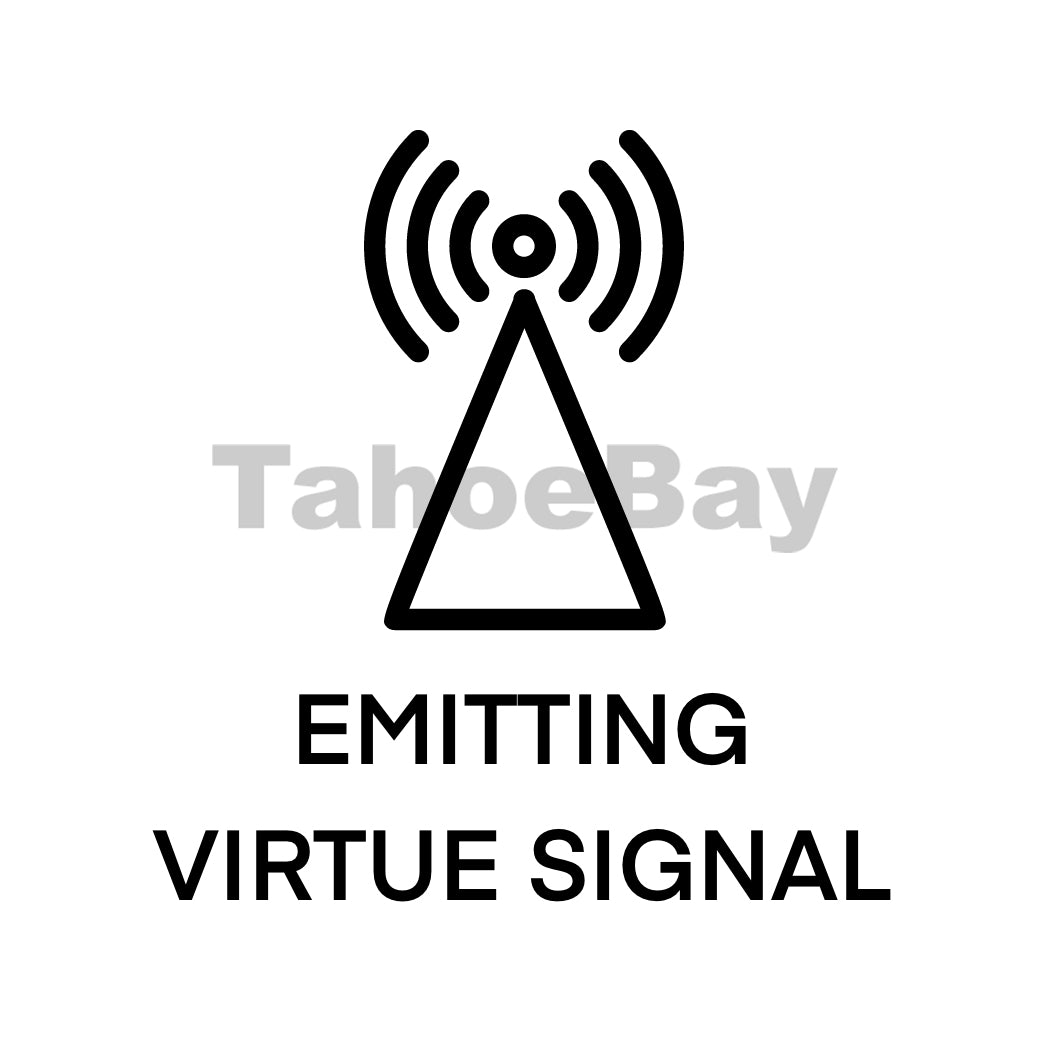 Emitting Virtue Signal Can Cooler Graphic Design Files | SVG PSD PNG