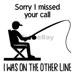 Sorry I Missed Your Call Can Cooler Graphic Design Files | SVG PNG