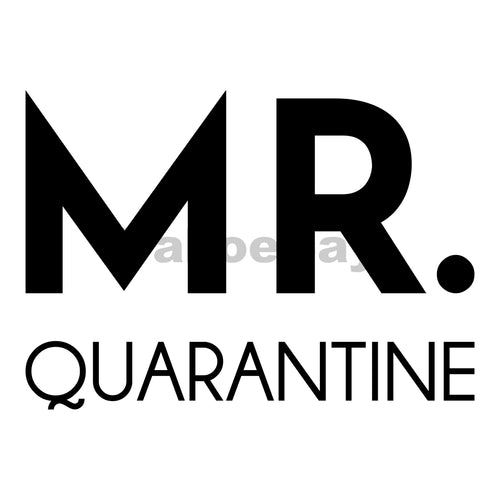 Mr Quarantine Can Cooler Graphic Design Files | SVG PNG