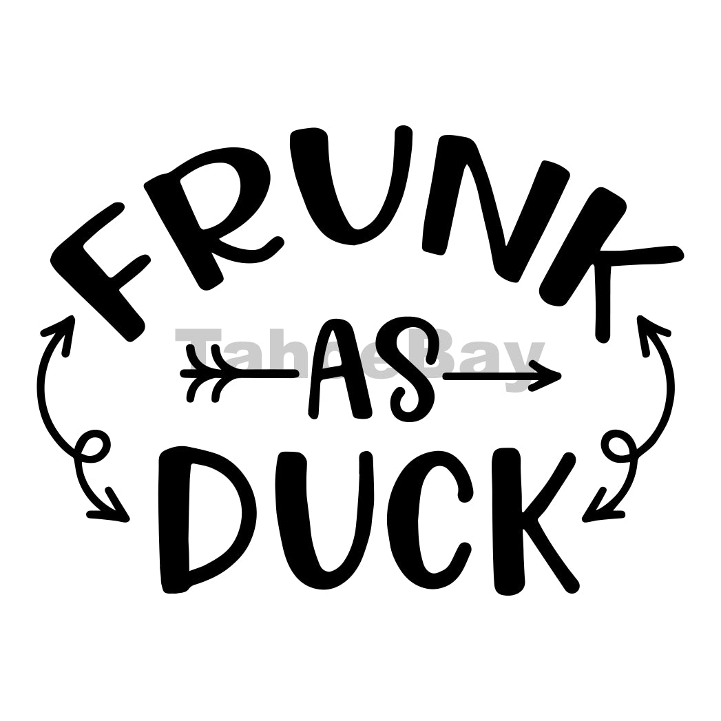 Frunk As Duck Can Cooler Graphic Design Files | SVG PNG