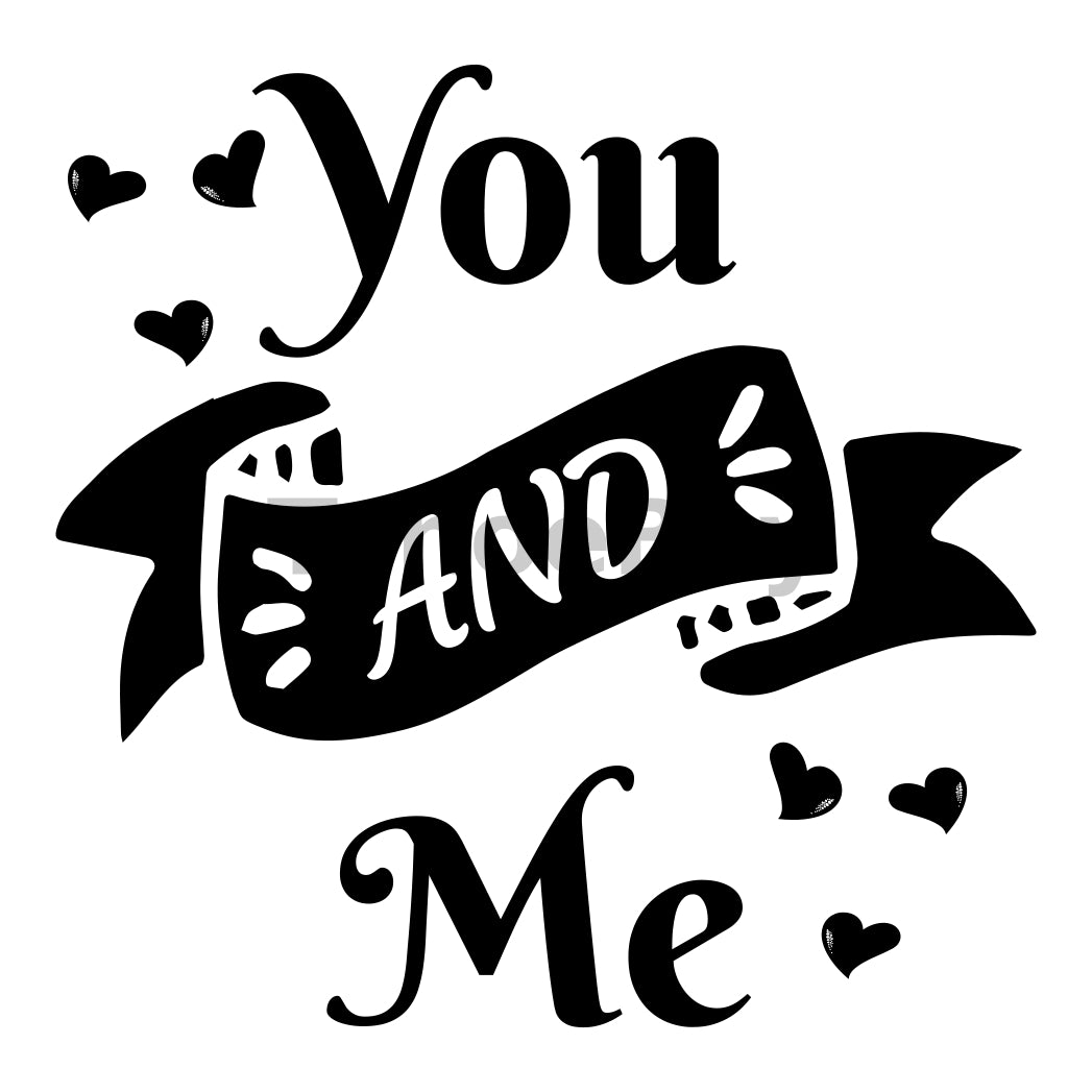 You And Me Can Cooler Graphic Design Files | SVG PNG