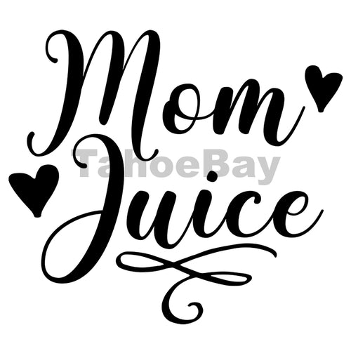Mom Juice Can Cooler Graphic Design Files | SVG PNG