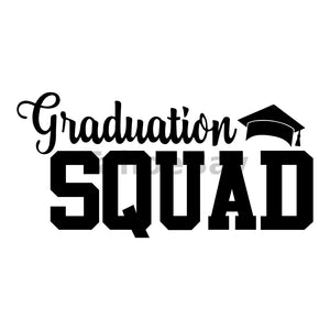 Graduation Squad Can Cooler Graphic Design Files | SVG PNG