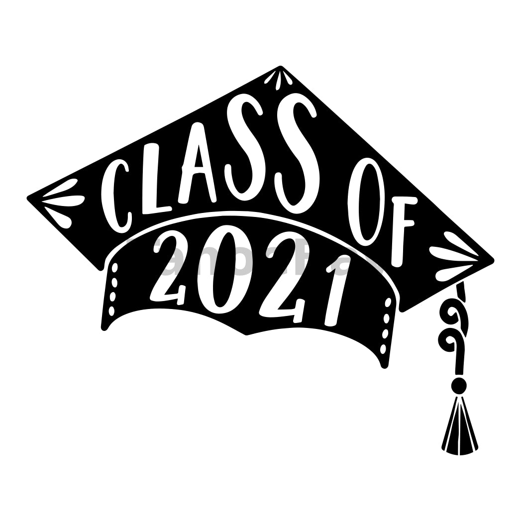 Class Of 2021 Can Cooler Graphic Design Files | SVG PNG