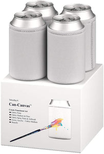 Can-Canvas Paintable Can Cooler