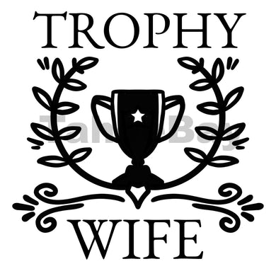 Trophy Wife Can Cooler Graphic Design Files | SVG PSD PNG