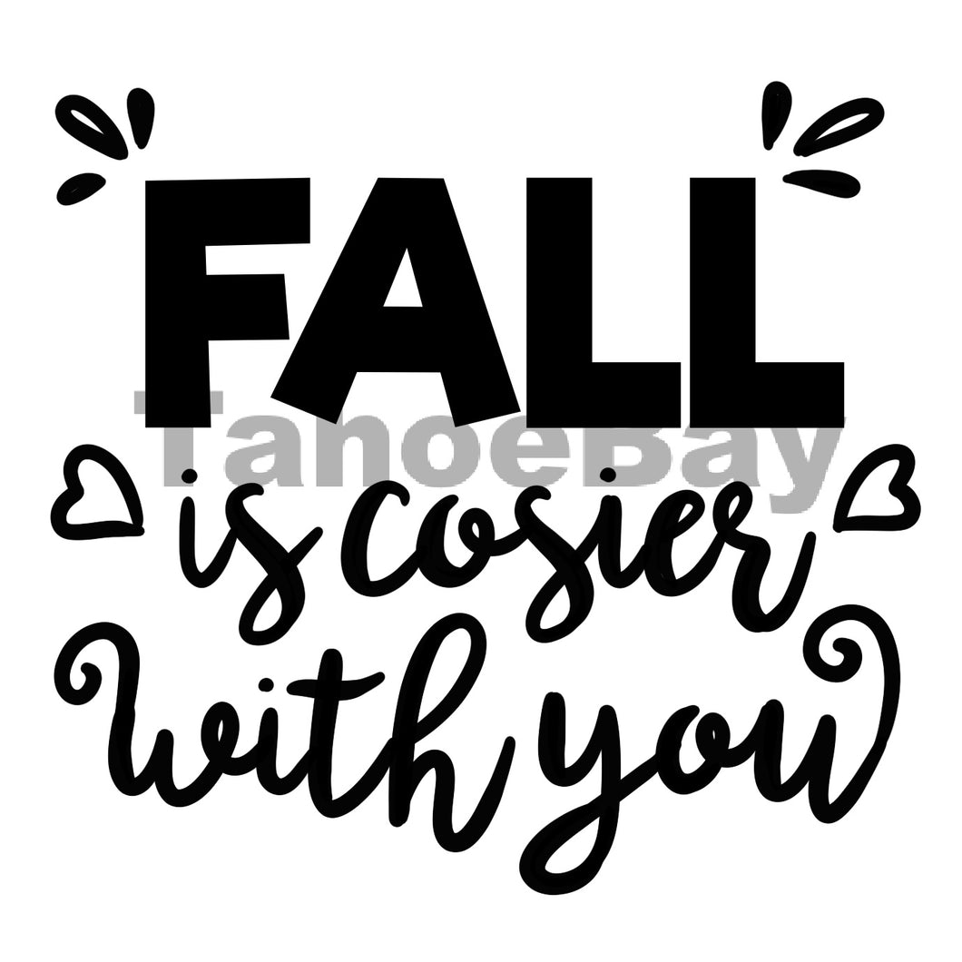 Fall Is Cosier With You Can Cooler Graphic Design Files | SVG PNG
