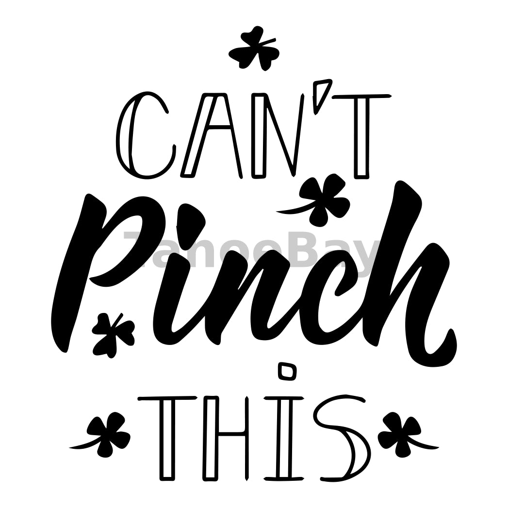 Cant Pinch This Can Cooler Graphic Design Files | SVG PNG