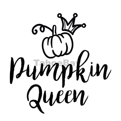 Pumpkin Queen Can Cooler Graphic Design Files | SVG PNG