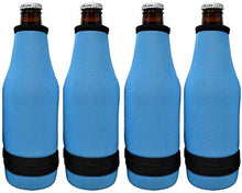 Load image into Gallery viewer, Blank Beer Bottle Thermal Sleeve - Easy-on Bottom Zipper Design