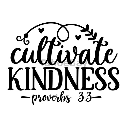 Cultivate Kindness Can Cooler Graphic Design Files | SVG PNG