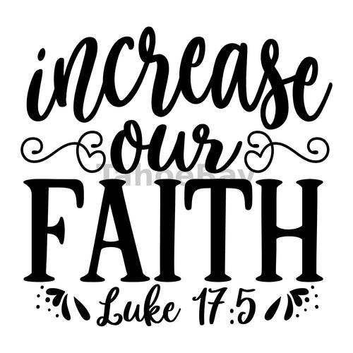 Increase Our Faith Can Cooler Graphic Design Files | SVG PNG